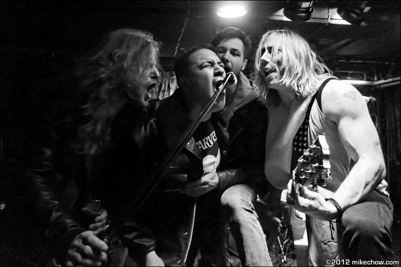 Versus The Nothing live at The Cellar, Vancouver BC, October 26, 2012.
