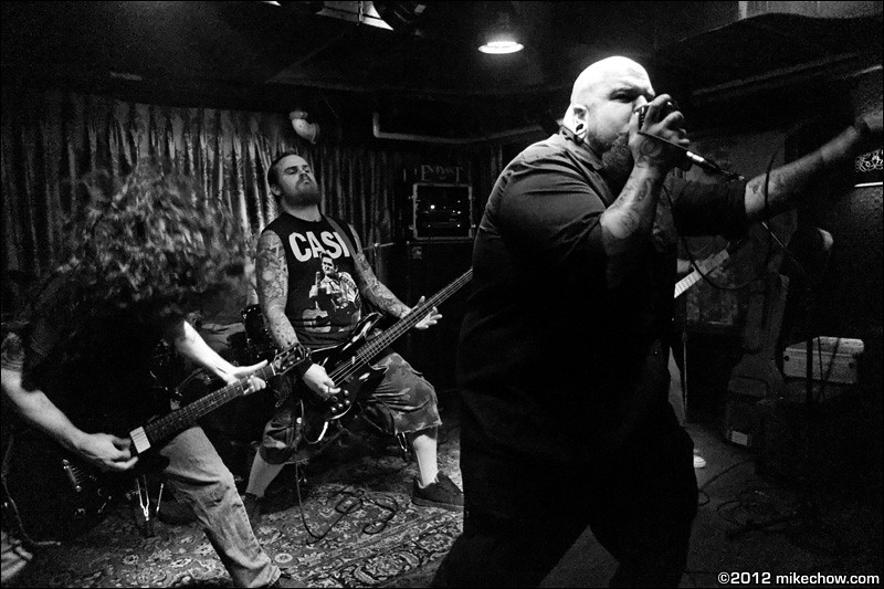 Endast live at The Cellar, Vancouver BC, October 26, 2012.