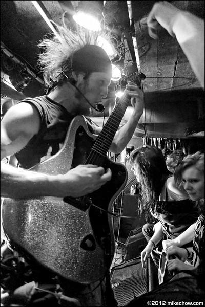 Ninjaspy live at The Cellar, Vancouver BC, October 26, 2012.