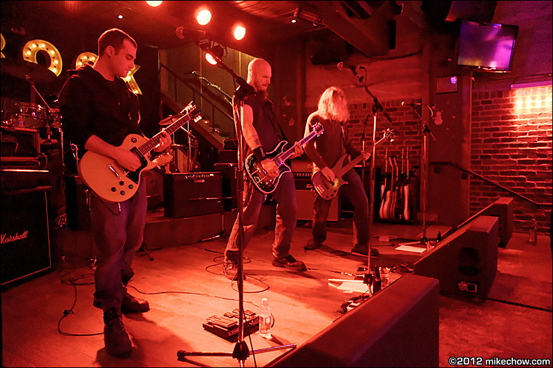 Thorntyr live at Joe's Apartment, Vancouver BC, December 15, 2012.