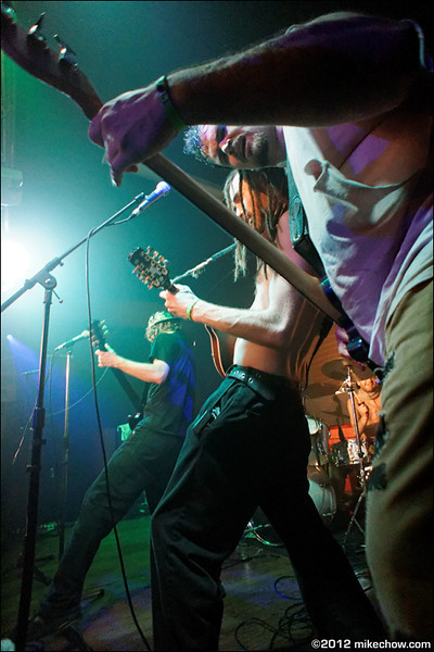The Dreadnoughts live at Fortune Sound Club, Vancouver BC, March 17, 2012.