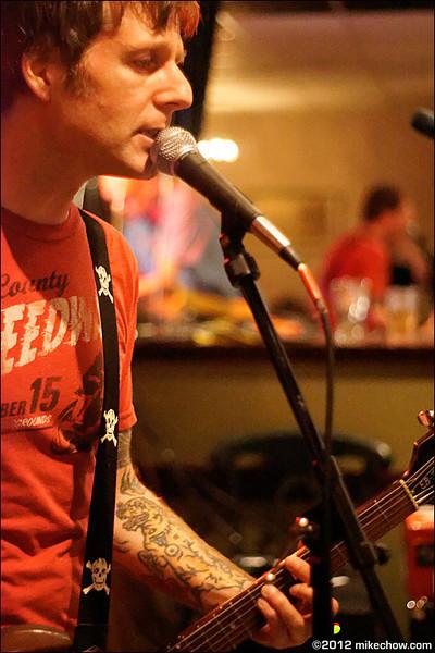 Motorama live at Lanalou's, Vancouver BC, April 20,2012.