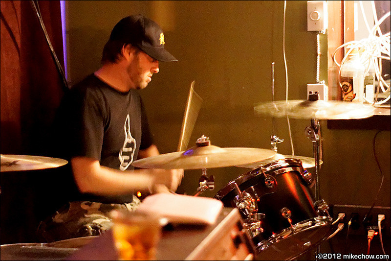 The Broken Hands live at Lanalou's, Vancouver BC, April 20,2012.