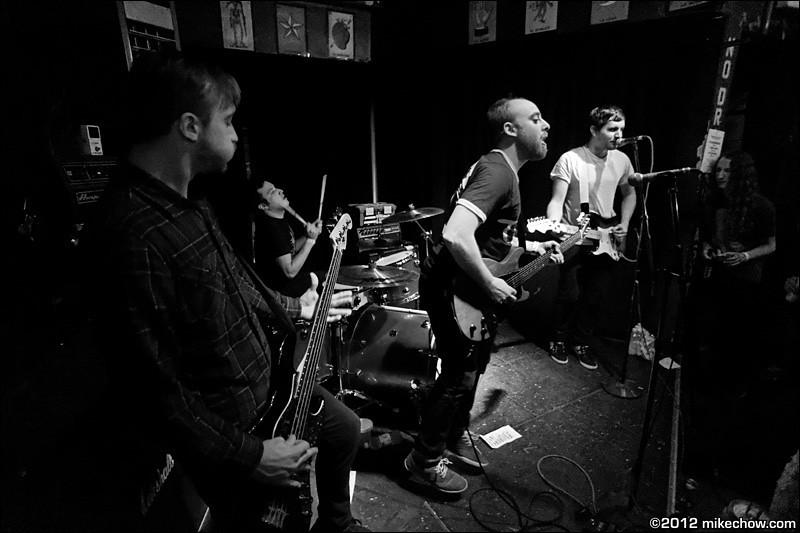 The Mezingers live at El Corazon, Seattle WA, March 31, 2012.