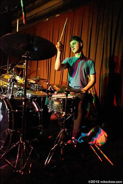 Smash Boom Pow live at Iron Road Studios, Vancouver BC, October 5, 2012.
