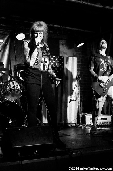 Spree Killers live at The Electric Owl, Vancouver BC, January 25, 2014.