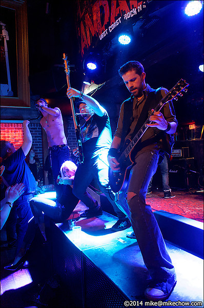 Dead City Scandal live at Joe's Apartment, Vancouver BC, May 10, 2014.