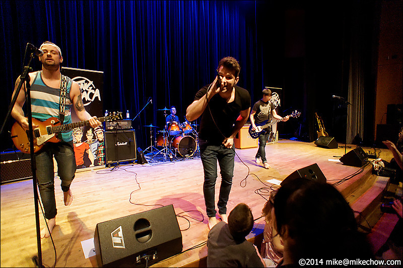 Fighting for Ithaca live at the Inlet Theatre, Port Moody, BC. March 1, 2014.