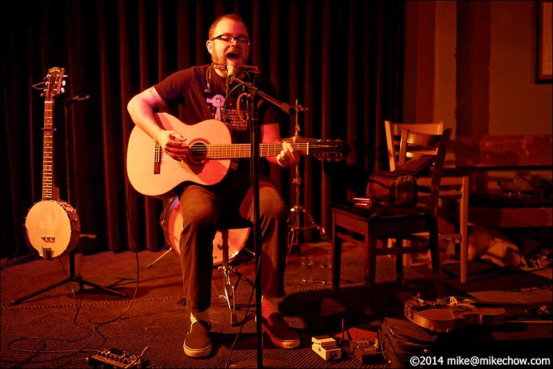 McDougall live at Al's Den, Portland OR, October 15, 2014.