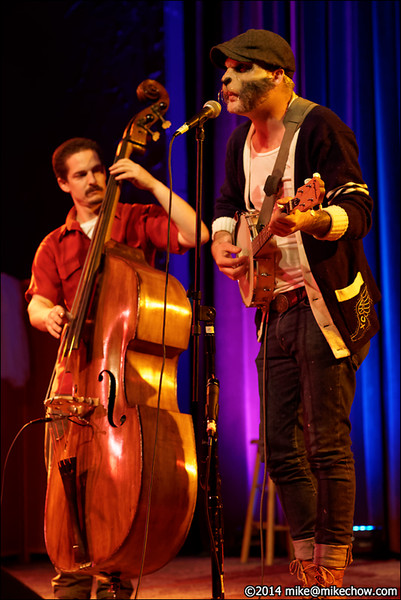 Lonesome Crows, Miz Kitty's Parlour Fall Follies, Alberta Rose Theater, Portland, OR, October 11, 2014.