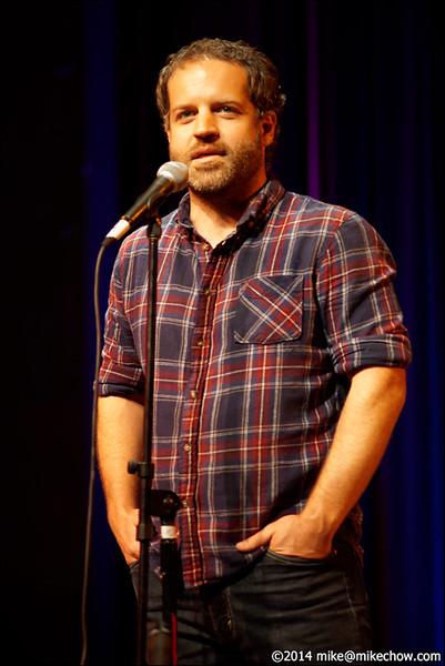 Jeff Hardison, Miz Kitty's Parlour Fall Follies, Alberta Rose Theater, Portland, OR, October 11, 2014.