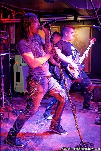 Ellice Blackout live at The Cellar, Vancouver BC, July 11, 2014.