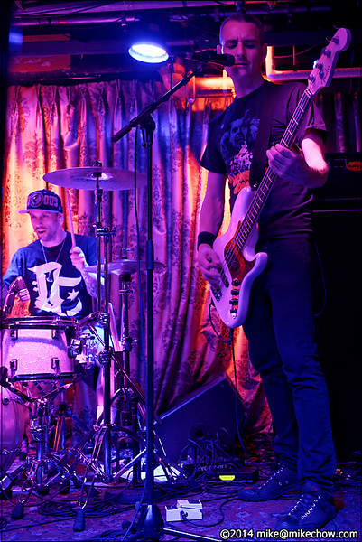 Season to Attack live at The Cellar, Vancouver BC, July 11, 2014.