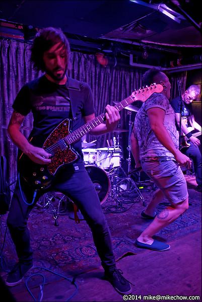 Season to Attack live at The Cellar, Vancouver BC, July 11, 2014.