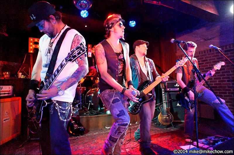 Dead City Scandal live at Joe's Apartment, Vancouver BC, June 14, 2014.
