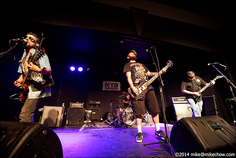 Legion of Goons live at the WISE Hall, Vancouver BC, July 25, 2014.