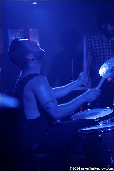 Anchoress live at The Biltmore, Vancouver BC, July 19, 2014.