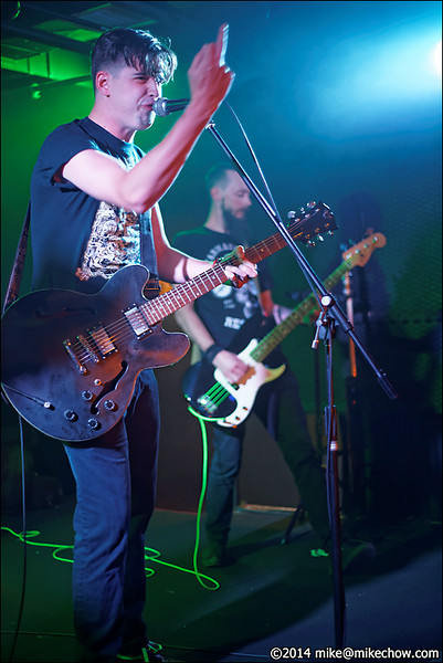 Bone Daddies live at The Biltmore, Vancouver BC, July 19, 2014.
