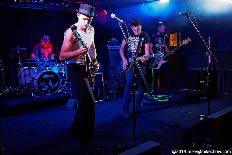 Bone Daddies live at The Biltmore, Vancouver BC, July 19, 2014.