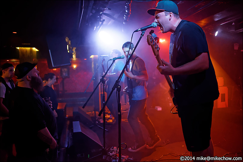 Crime City live at The Biltmore, Vancouver BC, July 19, 2014.