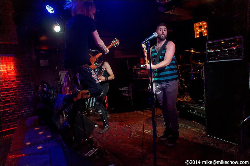 Kiss of the King live at Joe's Apartment, Vancouver BC, April 4, 2014.