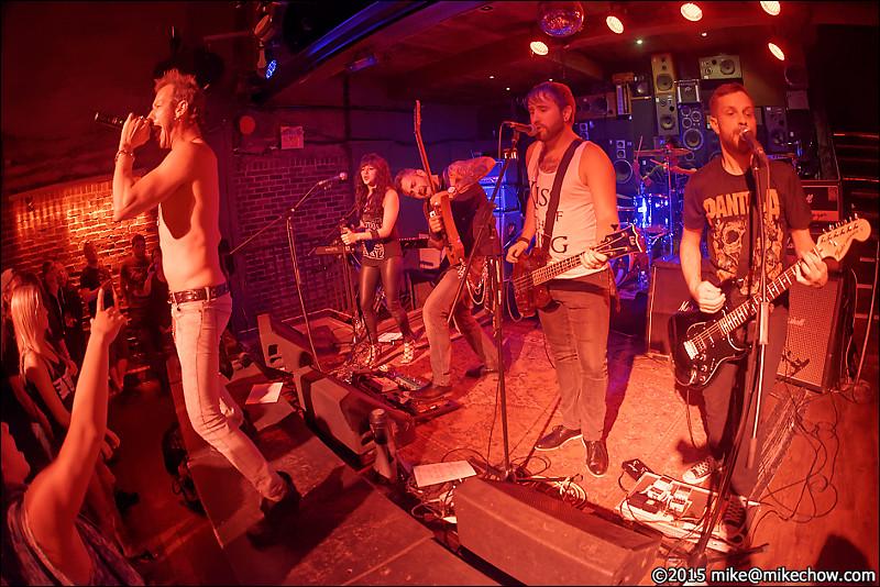 Dead City Scandal live at Studio Reccords, Vancouver BC, June 20, 2015.