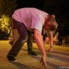 Block party at Britannia Beach, BC, August 15, 2015.<br /> <br /> Ron being Ron.