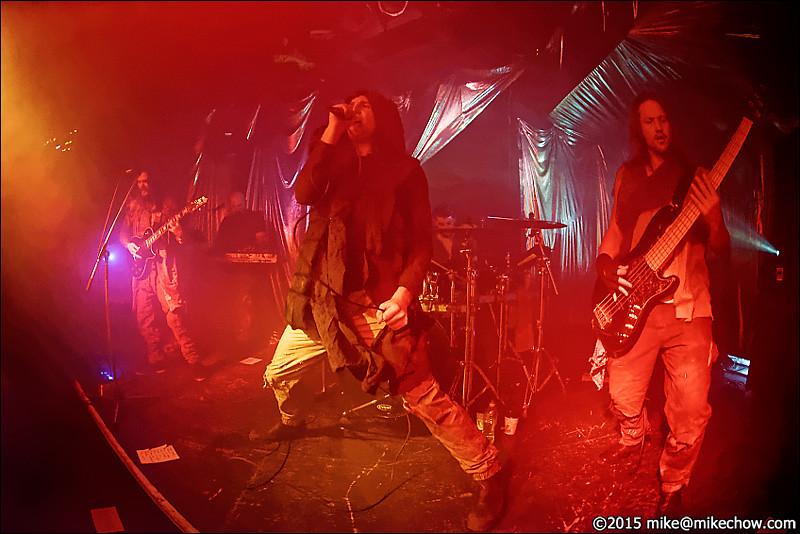 Incura live at Hindenburg, Vancouver BC, November 20, 2015.