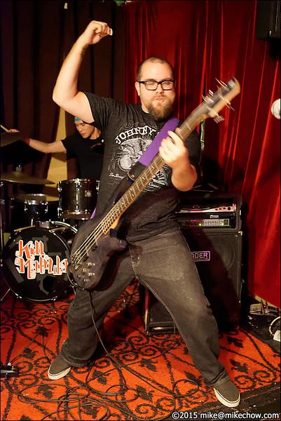 Kill Matilda live at LanaLou's, Vancouver BC, October 24, 2015.