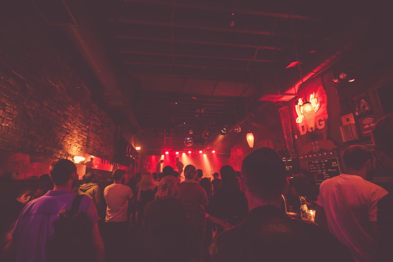 Suuns + Jerusalem In My Heart - Lucky Bar - 06.26.2015