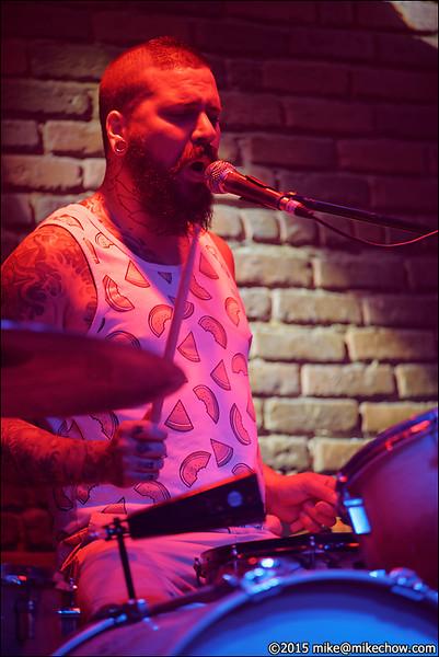 Grandola live at The Roxy, Vancouver BC, September 10, 2015.