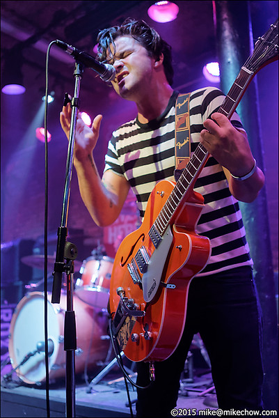 The Broadway Bullies live at The Roxy, Vancouver BC, September 10, 2015.