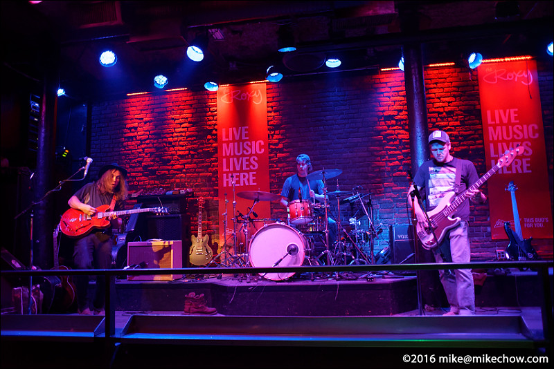 The Racket live at The Roxy, Vancouver BC, September 17, 2016