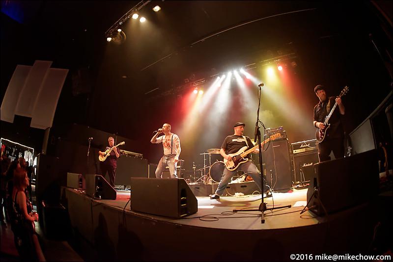The Generators live at The Rickshaw Theatre, Vancouver BC, February 13, 2016.