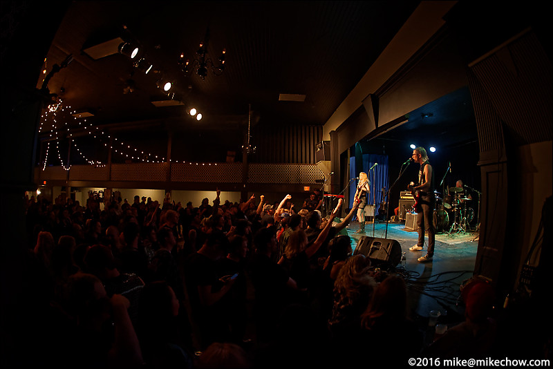 The Rebel Spell live at the WISE Hall, Vancouver BC, May 20, 2016.