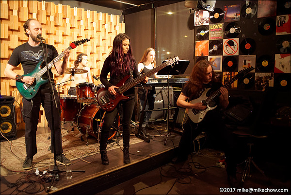 Kymatica live at Seven Dining Lounge, Vancouver BC, January 14, 2017.