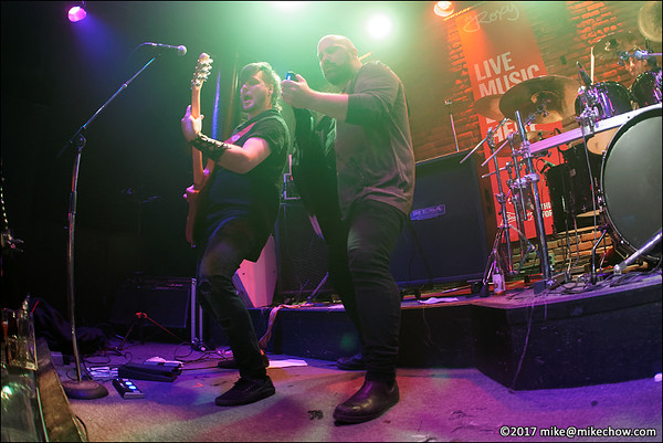 Incura live at The Roxy, Vancouver BC, February 16, 2017.