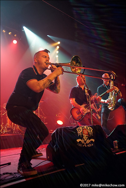 K-Man and the 45s live at The Rickshaw Theatre, Vancouver BC, March 17, 2017.