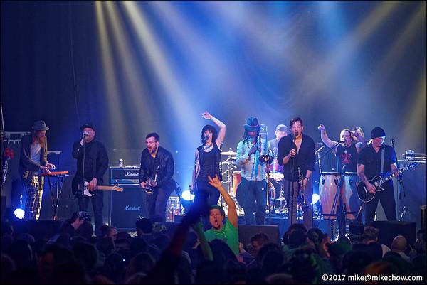 Los Furios live at The Rickshaw Theatre, Vancouver BC, March 17, 2017.