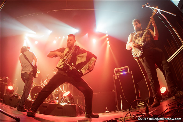 The Dreadnoughts live at The Rickshaw Theatre, Vancouver BC, March 18, 2017.