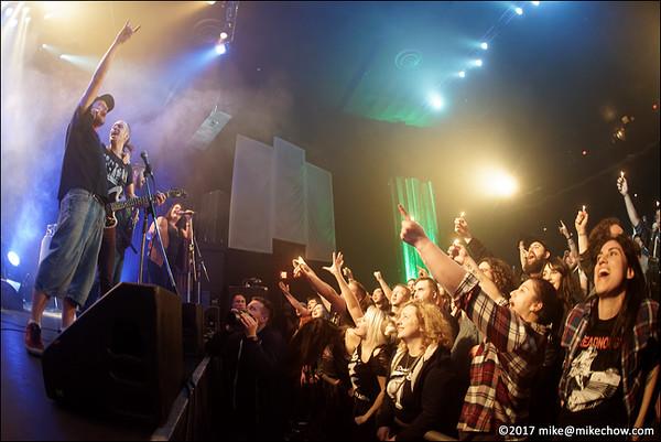 Ninjaspy live at The Rickshaw Theatre, Vancouver BC, March 18, 2017.