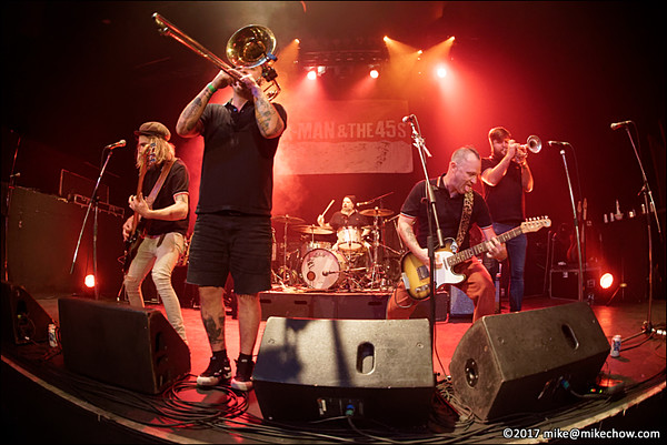 K-Man and the 45s live at The Rickshaw Theatre, Vancouver BC, September 30, 2017.