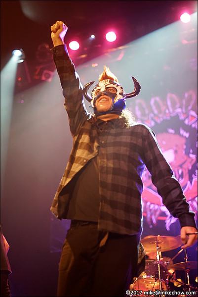Voodoo Glow Skulls live at The Rickshaw Theatre, Vancouver BC, September 30, 2017.