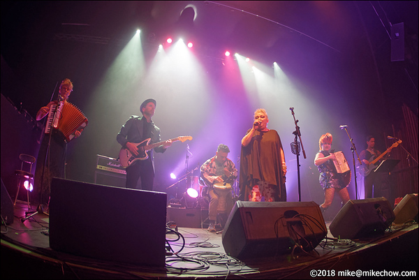 Something About Reptiles live at the Rickshaw Theatre, Vancouver BC, March 17, 2018.