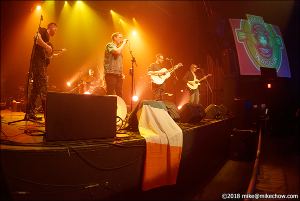 Paddy Waggin' live at the Rickshaw Theatre, Vancouver BC, March 17, 2018.