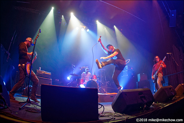ATD live at the Rickshaw Theatre, Vancouver BC, March 17, 2018.