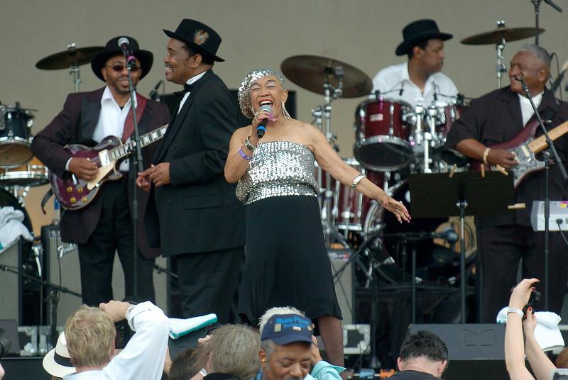 Chicago Blues Festival<br /> June 6, 2008<br /> <br /> Ruby Andrews