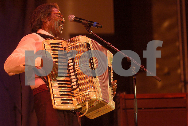 Chicago Blues Festival<br /> June 7, 2008<br /> <br /> Buckwheat Zydeco
