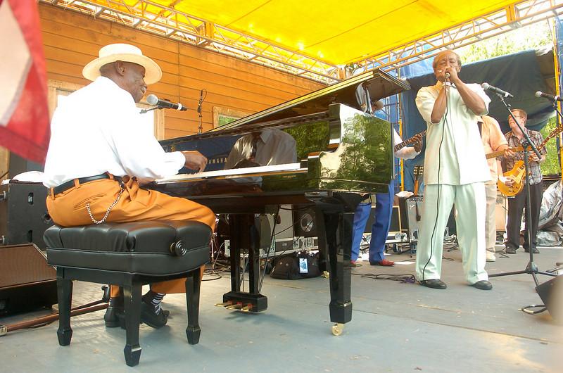 Chicago Blues Festival<br /> June 5, 2008<br /> <br /> Pinetop Perkins