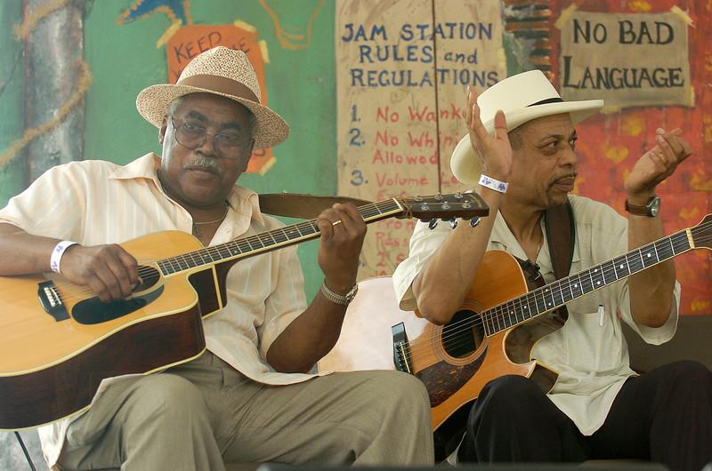 Chicago Blues Festival<br /> June 5, 2008<br /> <br /> Jimmy Burns and John Primer